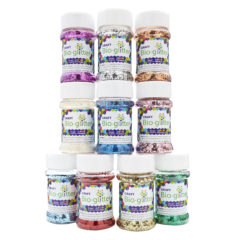 Craft Bio-glitter® 10 x 40g Shakers