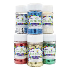 Craft Bio-glitter® 6 x 60g Shakers