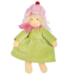 Nanchen Organic Waldorf Doll - Blumchen - 24cm