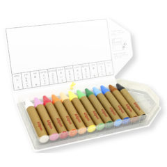 Kitpas Window Crayons - Large 12 Colours