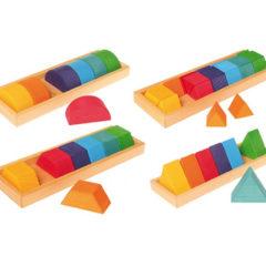 Grimm's Shapes & Colours Building Set II