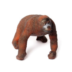 Green Rubber Toys - Natural Rubber Orangutan
