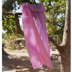 Sarah's Silks Cape - Reversible Pink/Lavender Cape